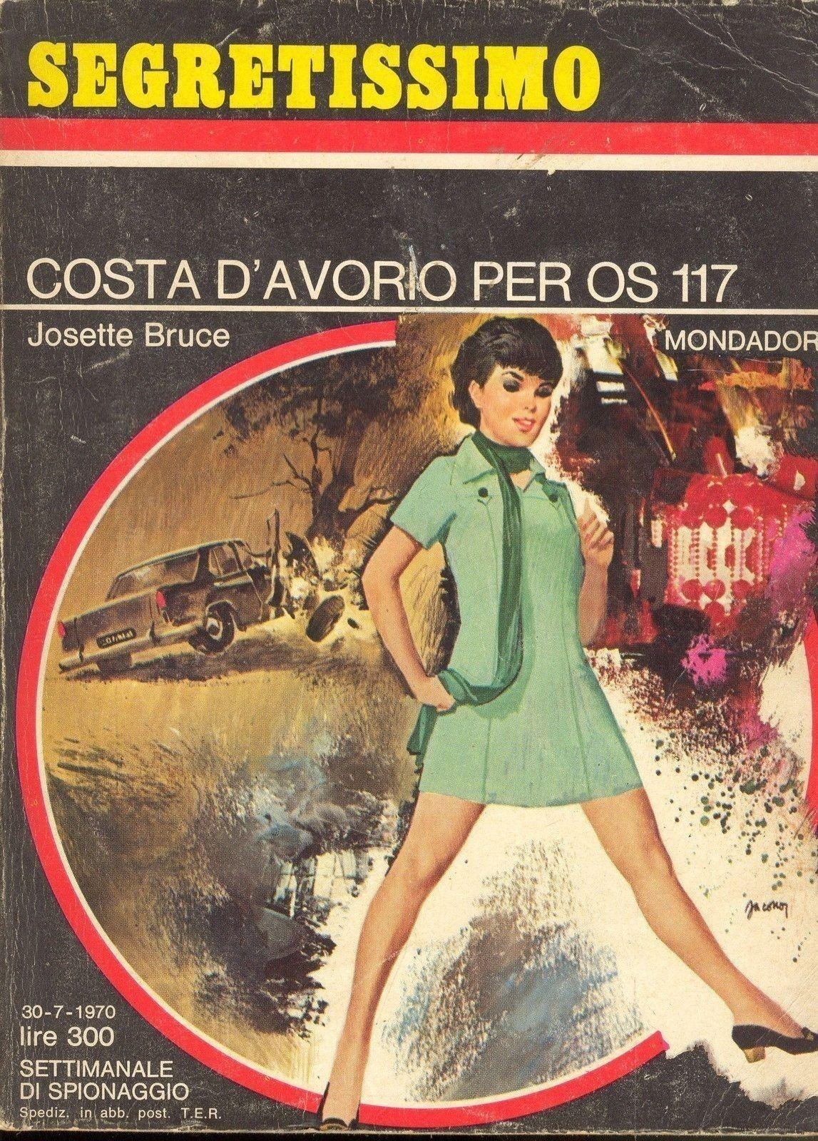 COSTA D'AVORIO PER  OS 117 - JOSETTE BRUCE