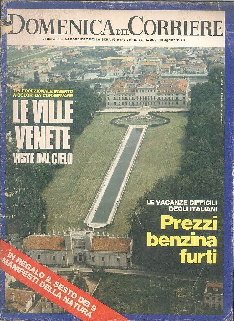 DOMENICA DEL CORRIERE N °33 -14 AGOSTO 1973