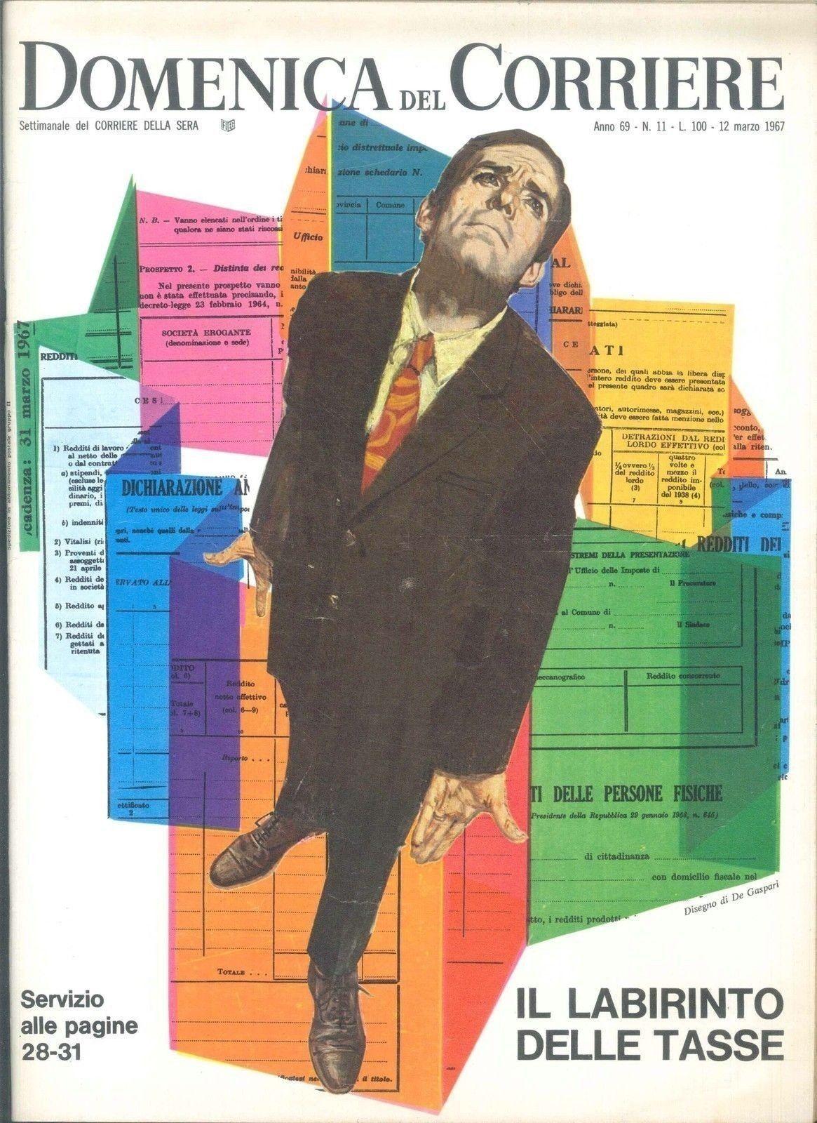 DOMENICA DEL CORRIERE N° 11 - 12 MARZO 1967