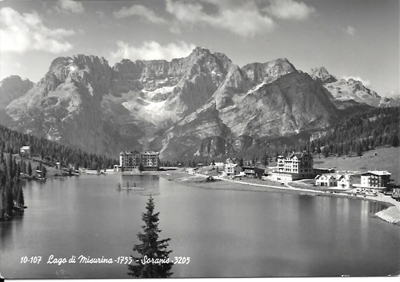 LAGO DI MISURINA - SORAPIS - PANORAMA - NV