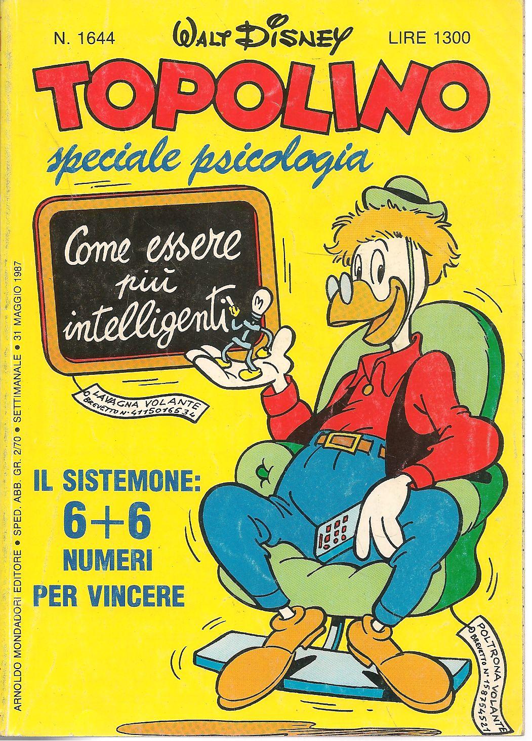 TOPOLINO-N-1644-31-MAGGIO-1987