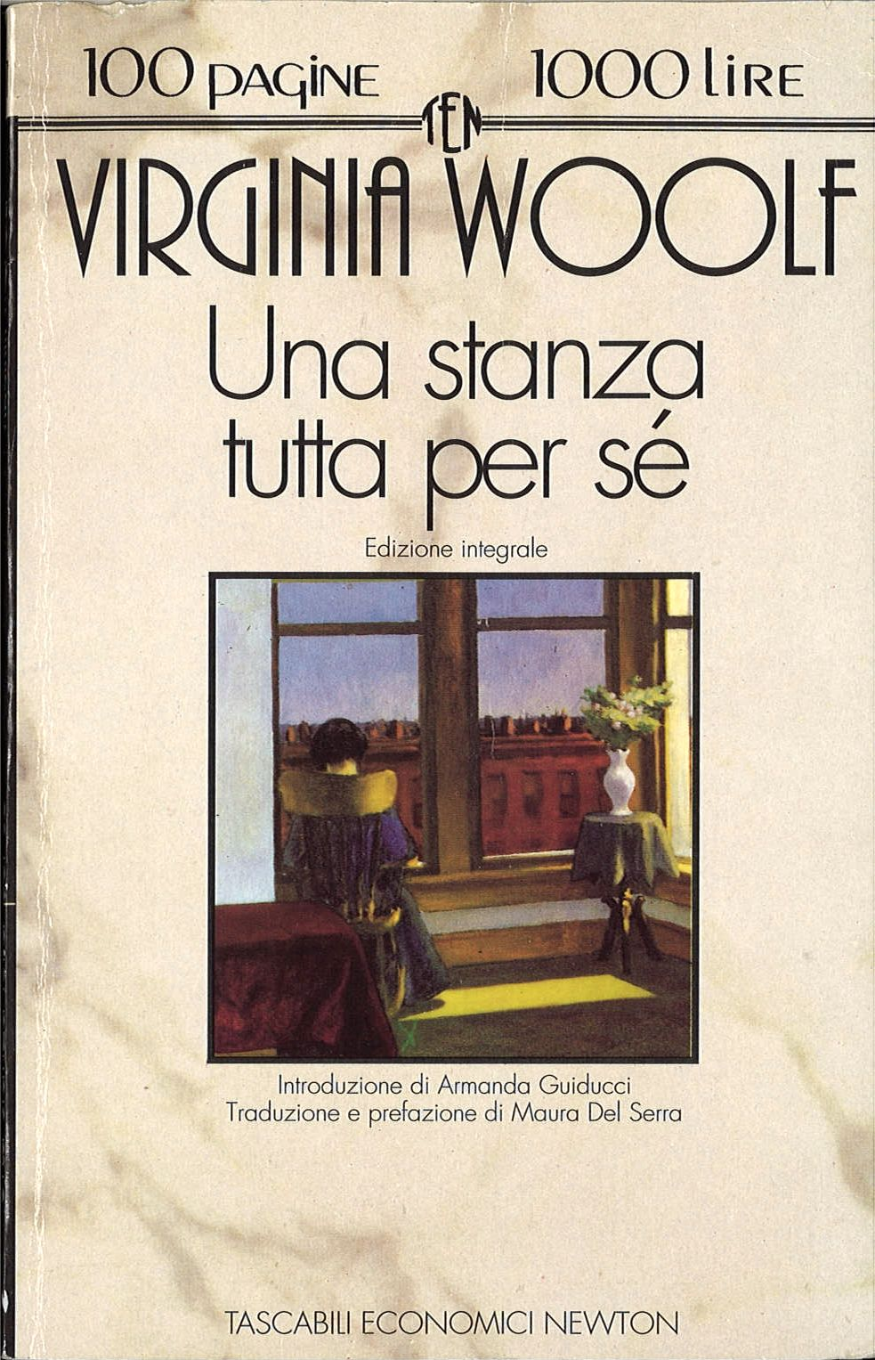 UNA STANZA TUTTA PER SE'  -  VIRGINIA WOOLF