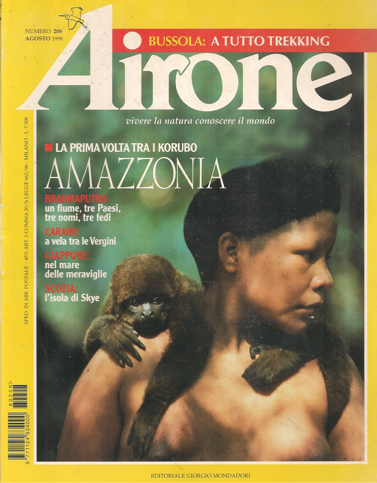 AIRONE N. 208  AGOSTO 1998