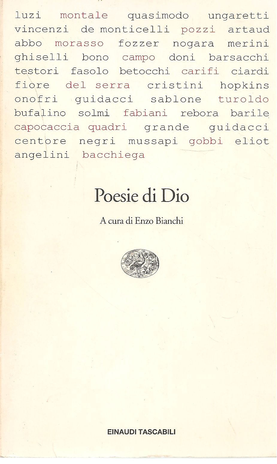 POESIE DI DIO - AA. VV.