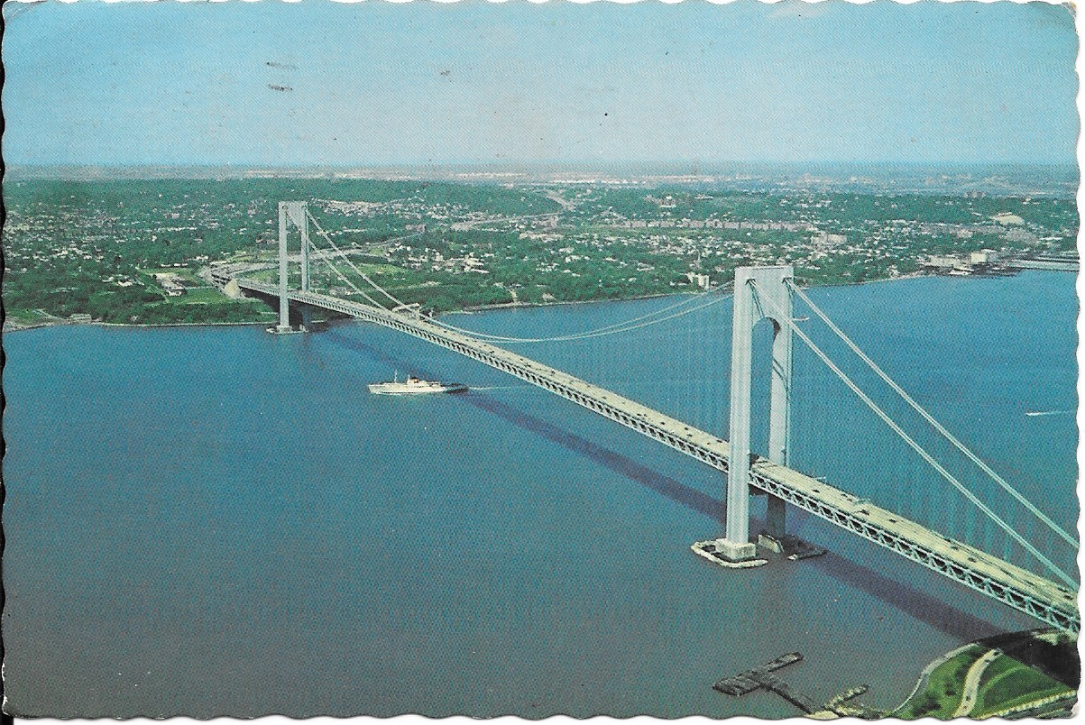 THE VERRAZZANO-NARROWS BRIDGE - V1978