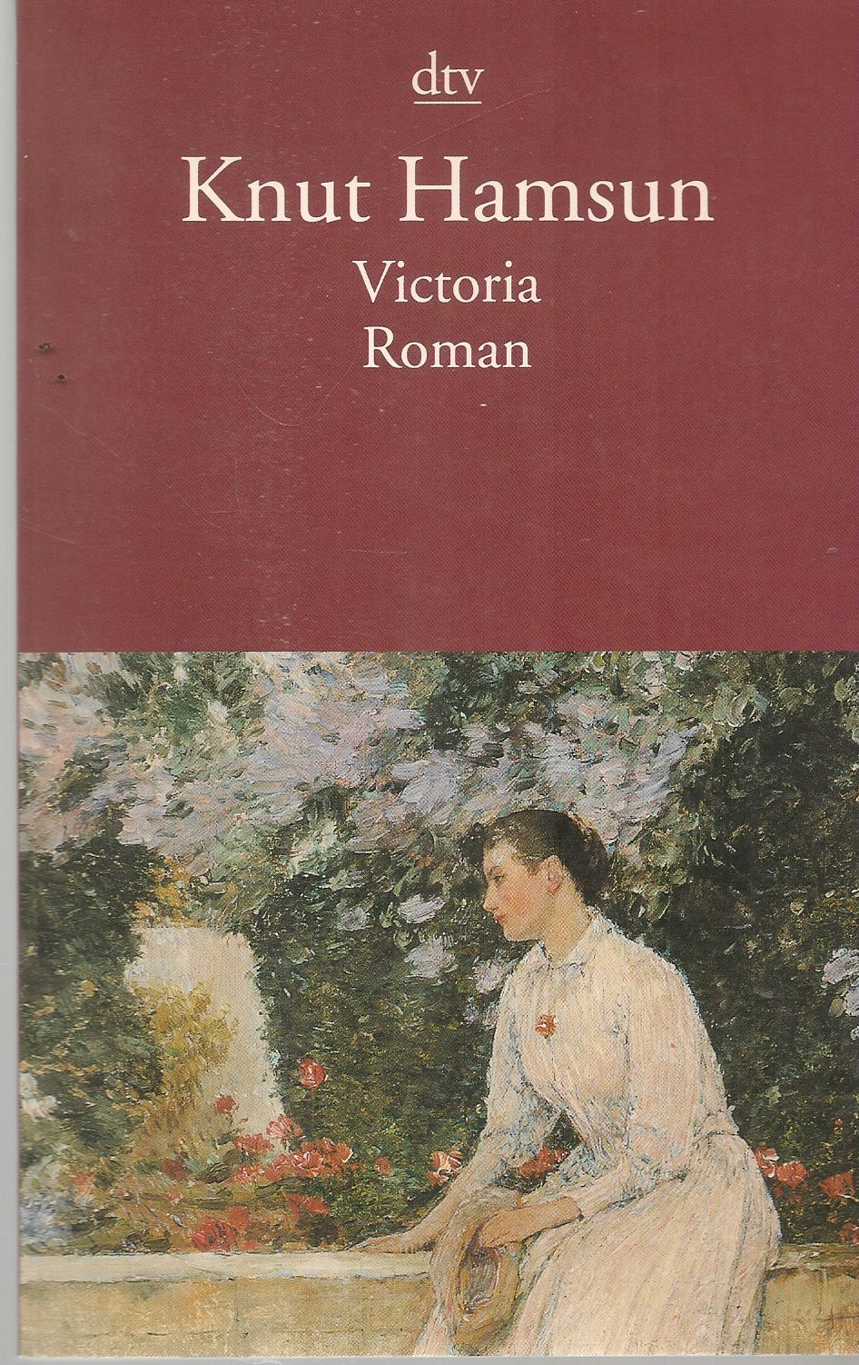 VICTORIA - KNUT HAMSUN - GERMAN TEXT