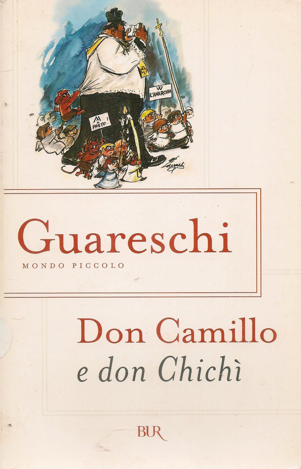 DON CAMILLO E DON CHICHI' - GUARESCHI
