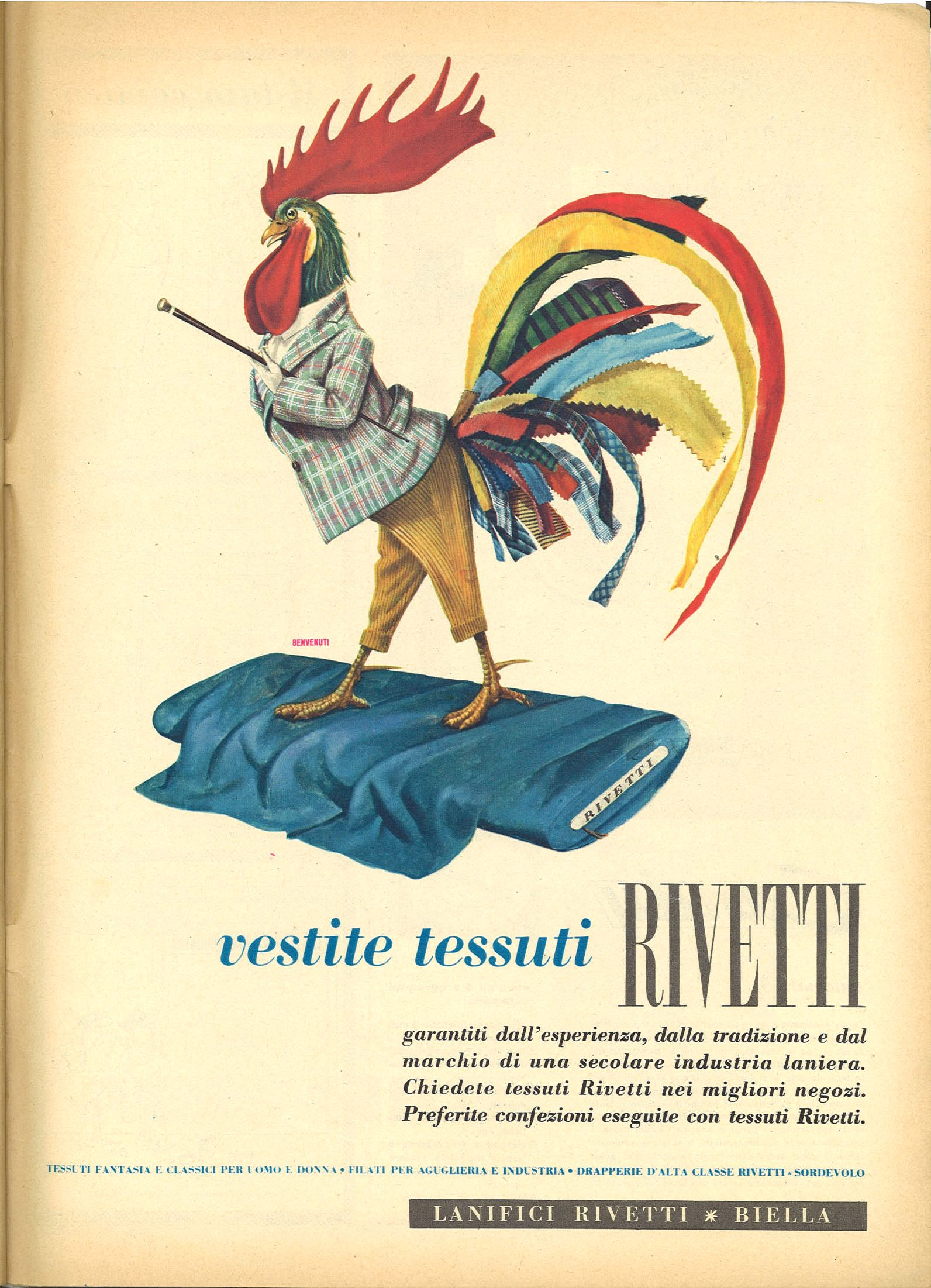 TESSUTI RIVETTI - ADVERTISING