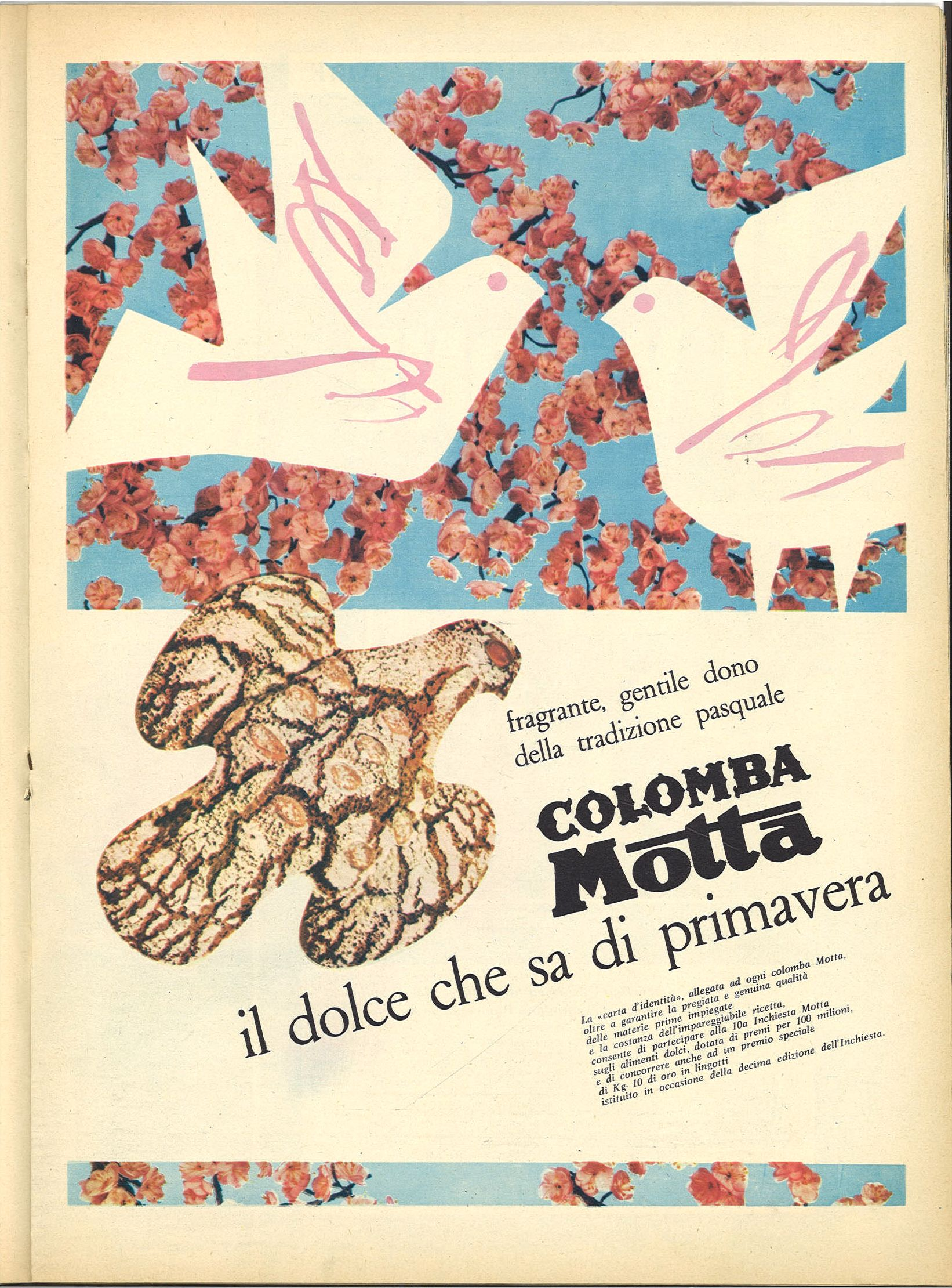 COLOMBA MOTTA. IL DOLCE CHE SA DI PRIMAVERA - ADVERTISING