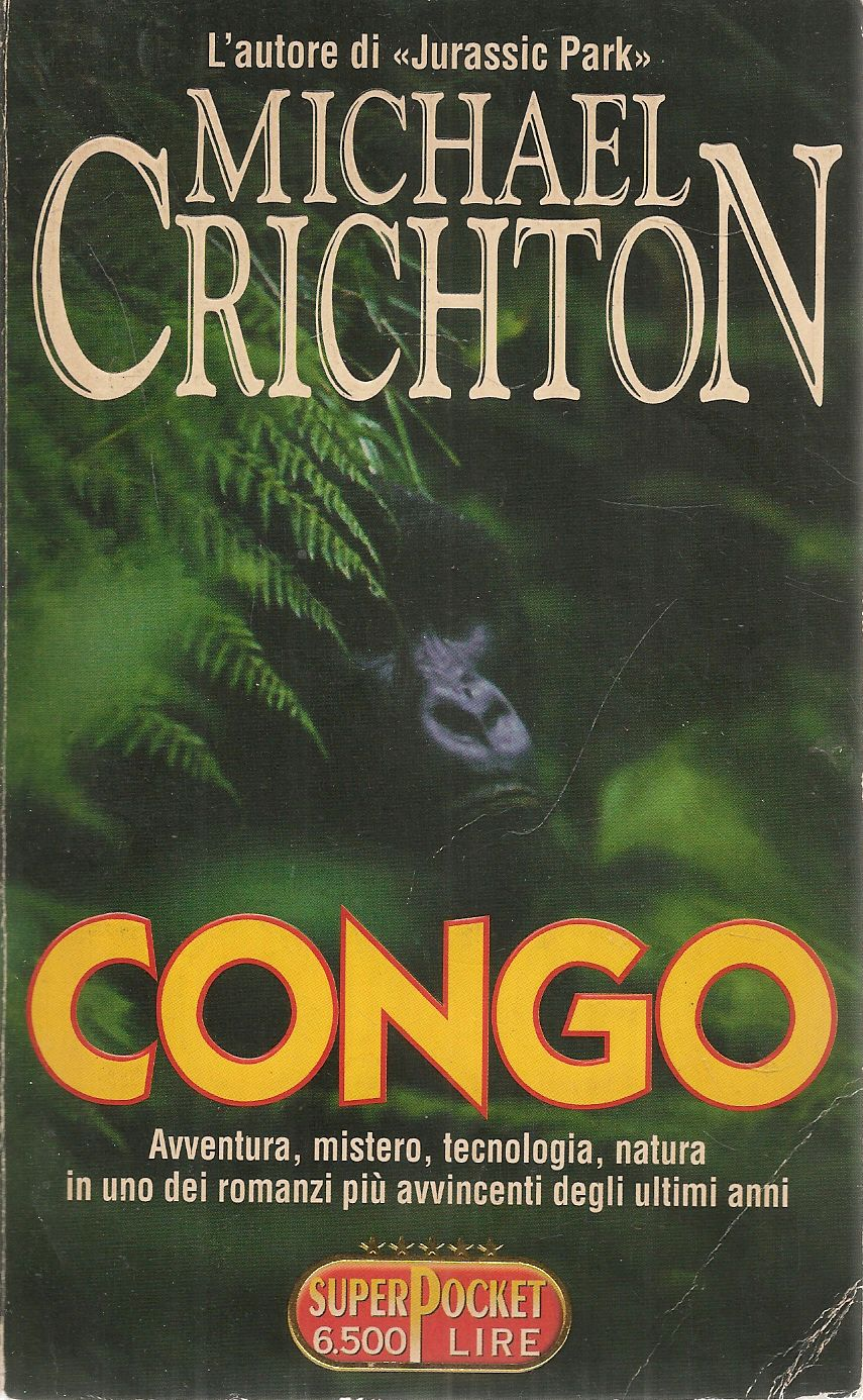 CONGO - MICHAEL CRICTON - SUPERPOCKET 1997