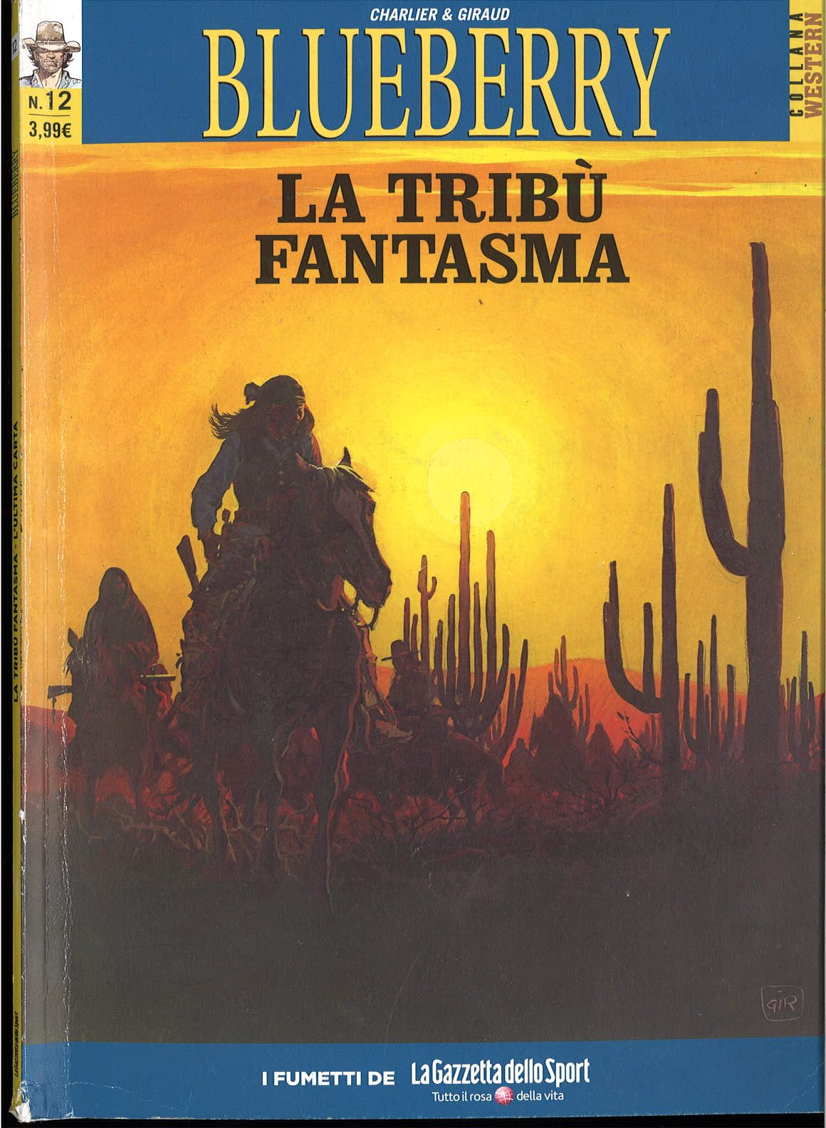 BLUEBARRY N. 12 - LA TRIBU' FANTASMA,