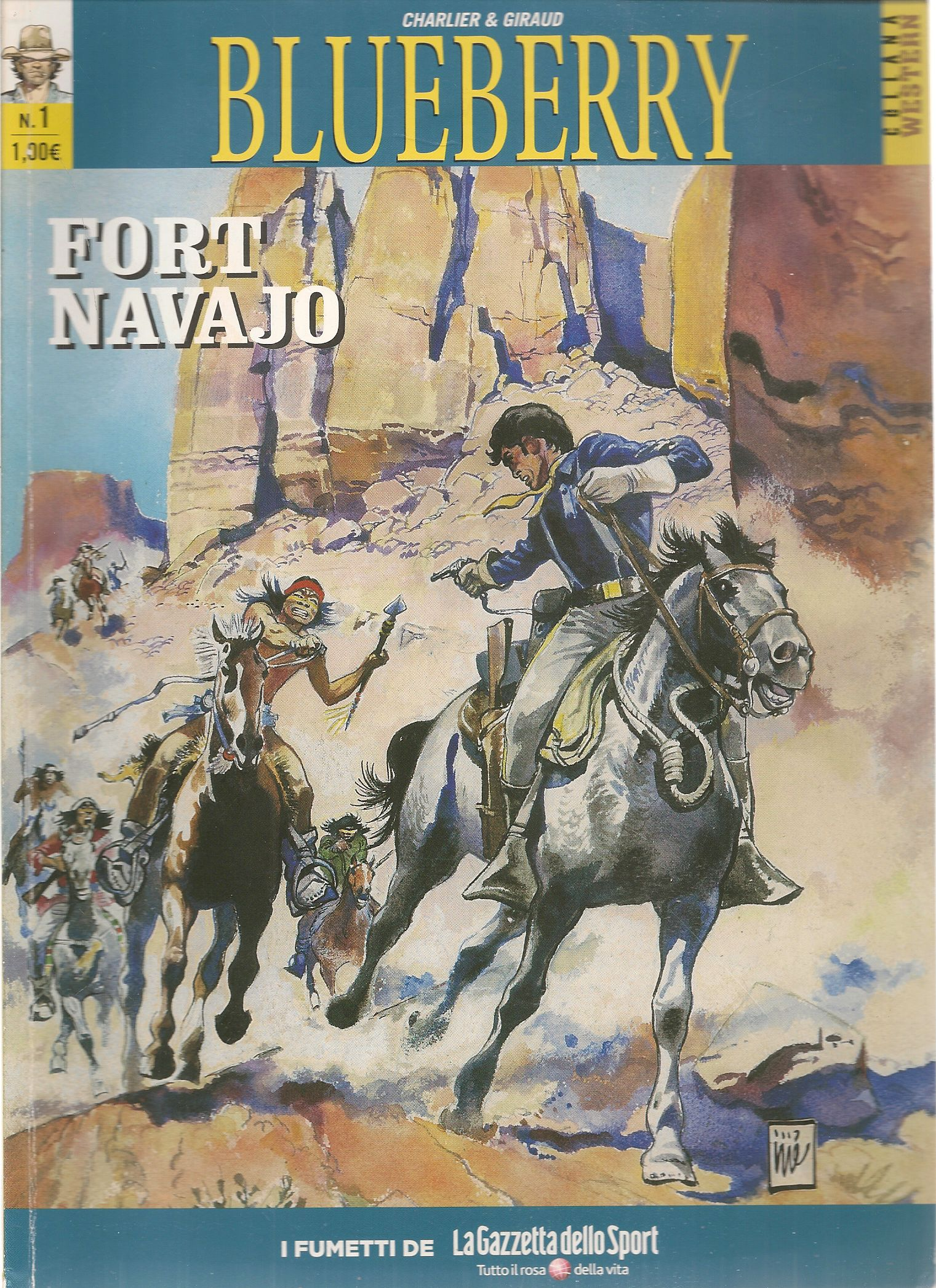 BLUEBERRY N. 1 - FORT NAVAJO