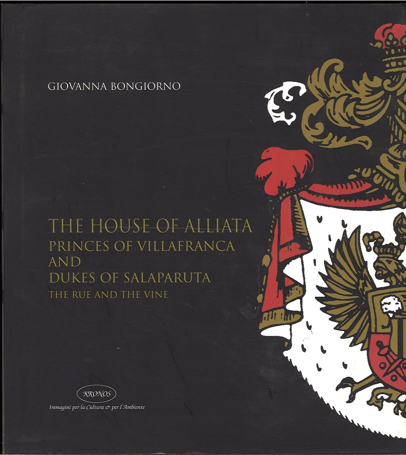 THE HOUSE OF ALLIATA - GIOVANNA BONGIORNO - ENGLISH TEXT