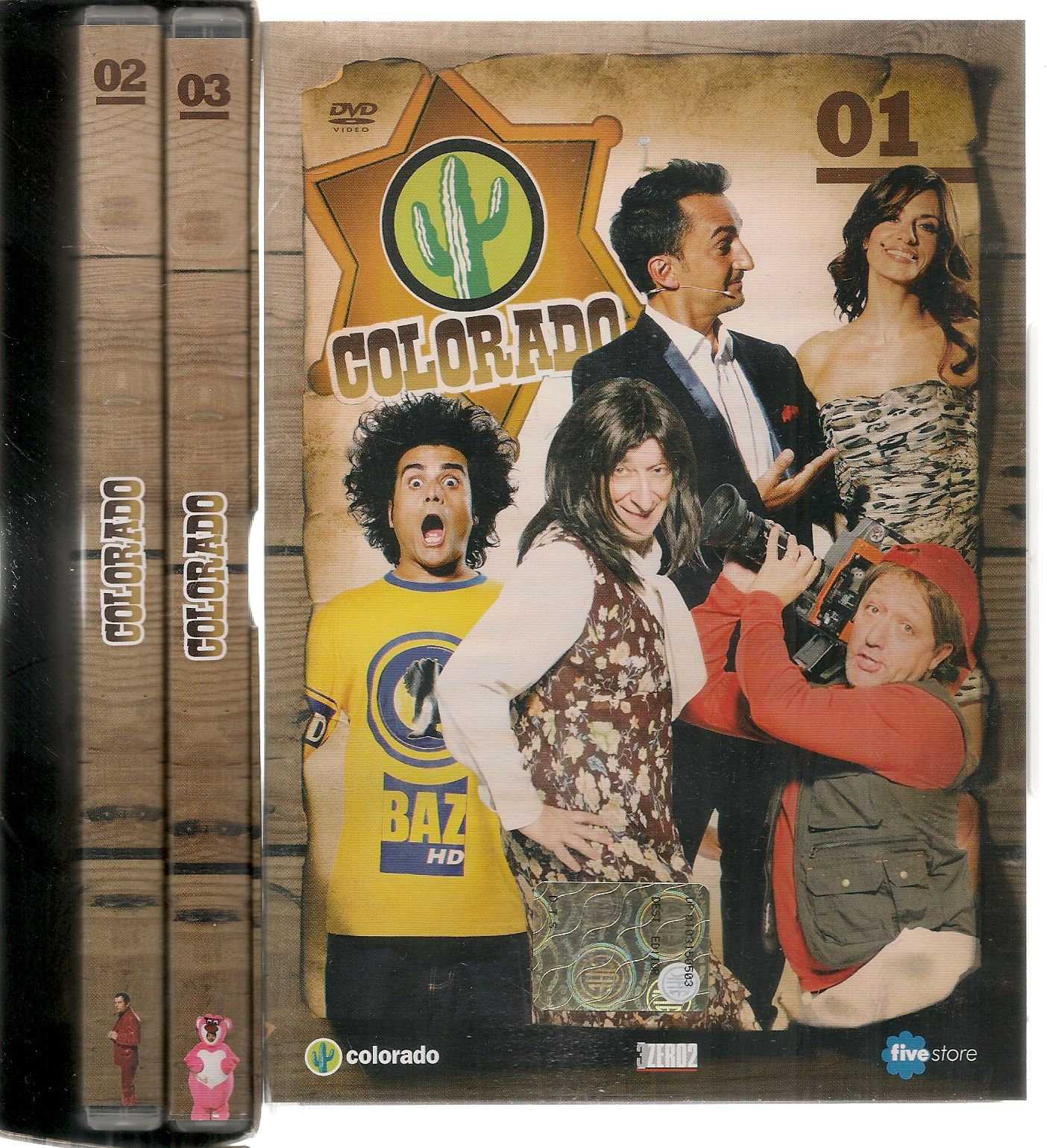 COLORADO - COFANETTO 3 DVD