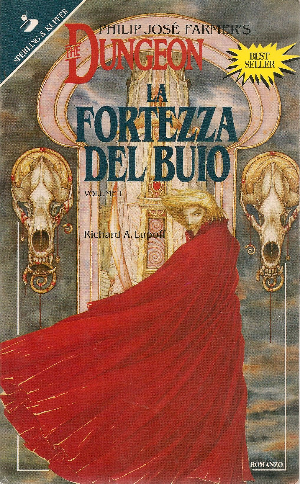 PHILIP JOSE' FARMER'S DUNGEON. LA FORTEZZA DEL BUIO - RICHARD A. LUPOFF