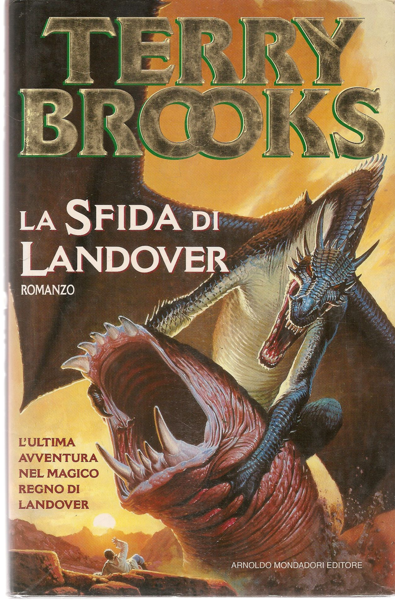 LA SFIDA DI LANDOVER - TERRY BROOKS
