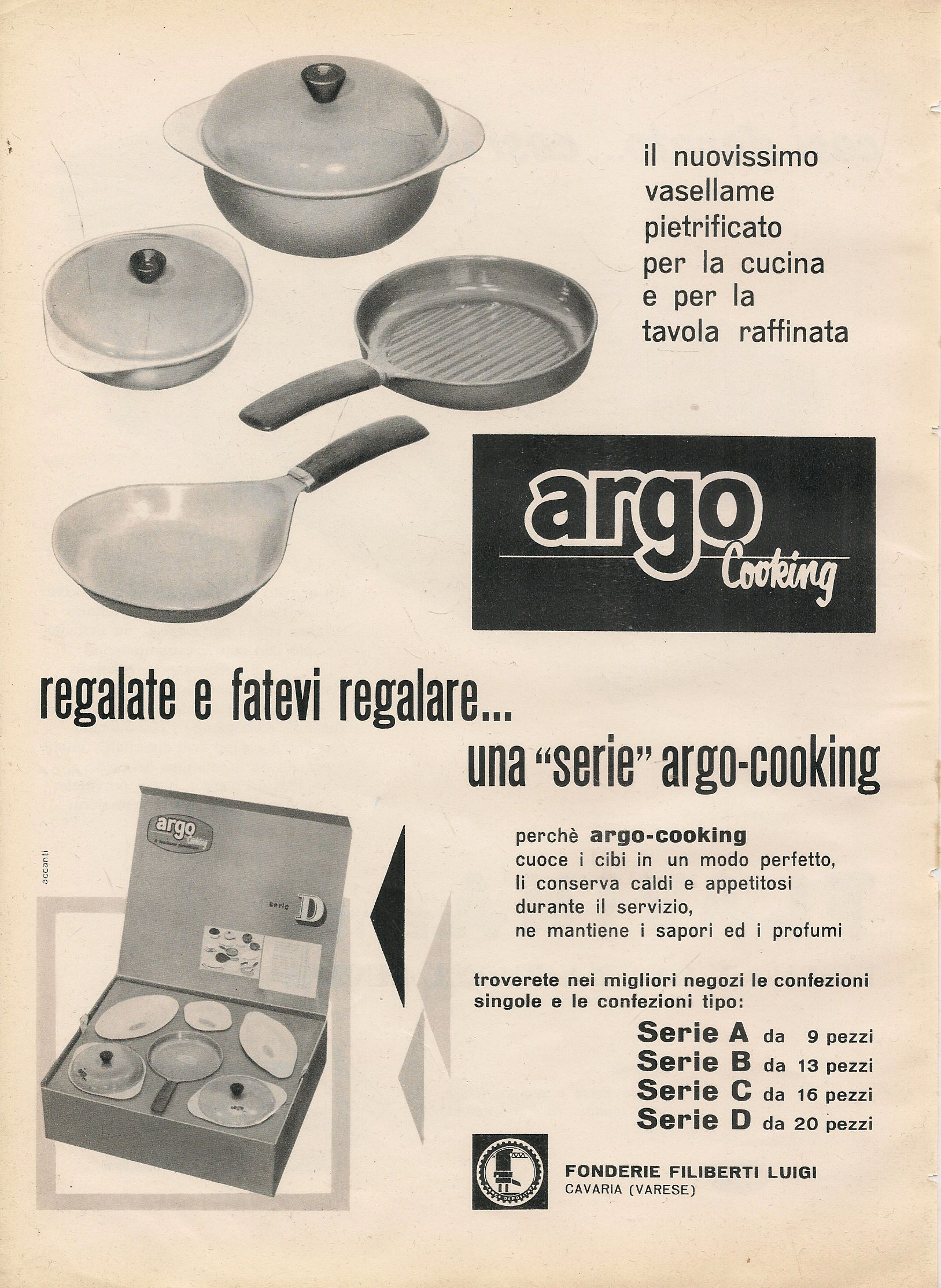 ARGO COOKING - ADVERTISING