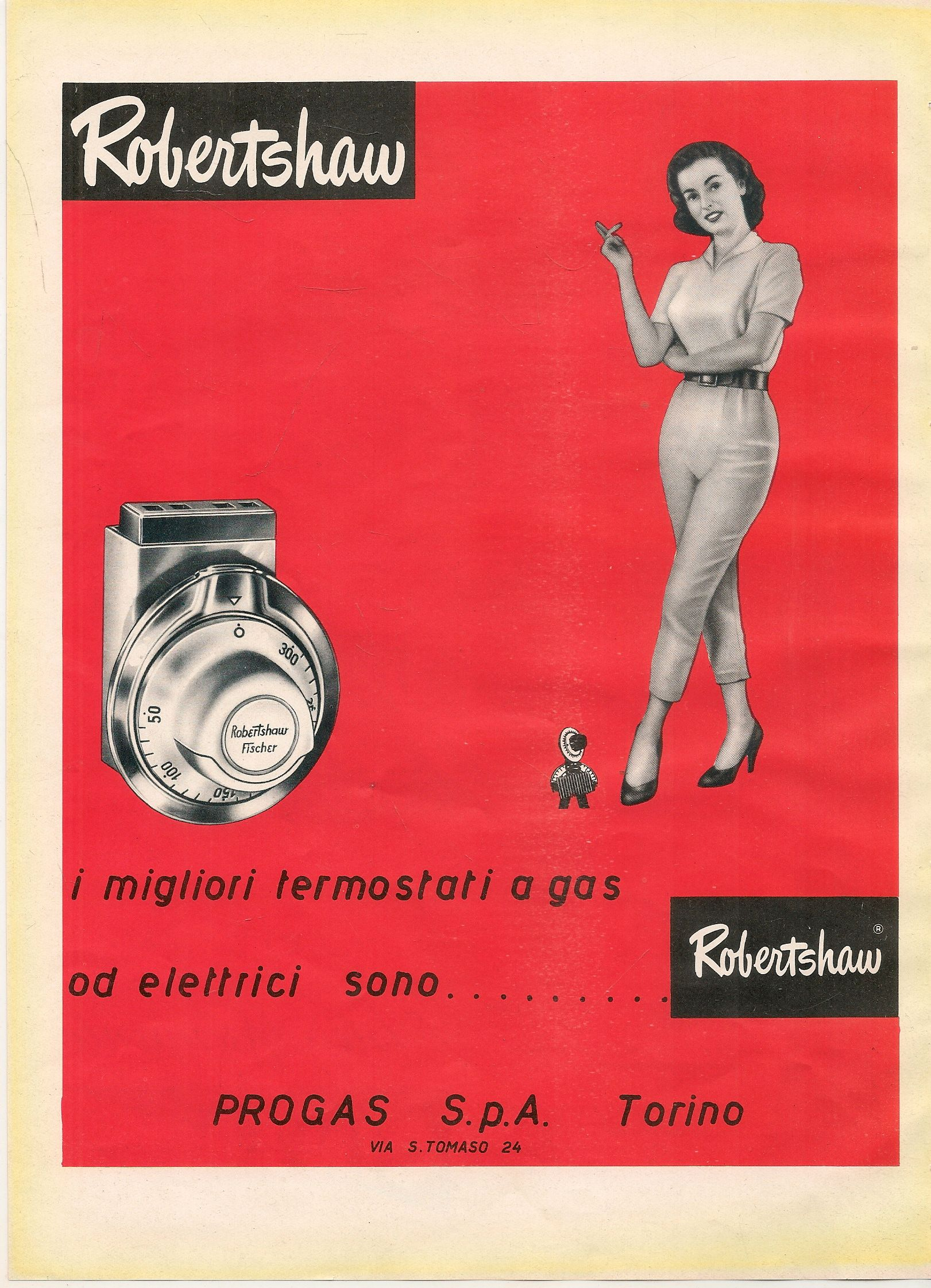 ROBERTSHAW I MIGLIORI TERMOSTATI A GAS - ADVERTISING