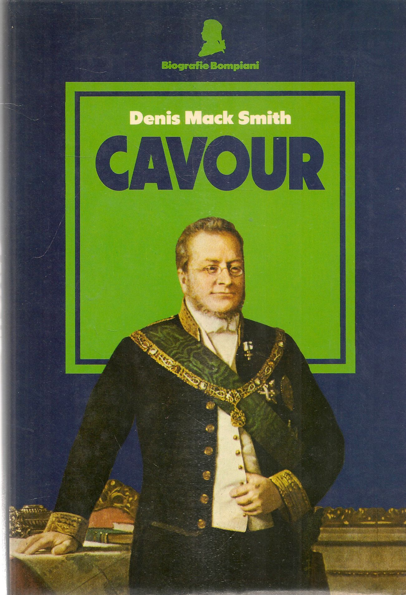 CAVOUR - DENIS MACK SMITH - bompaini 1984