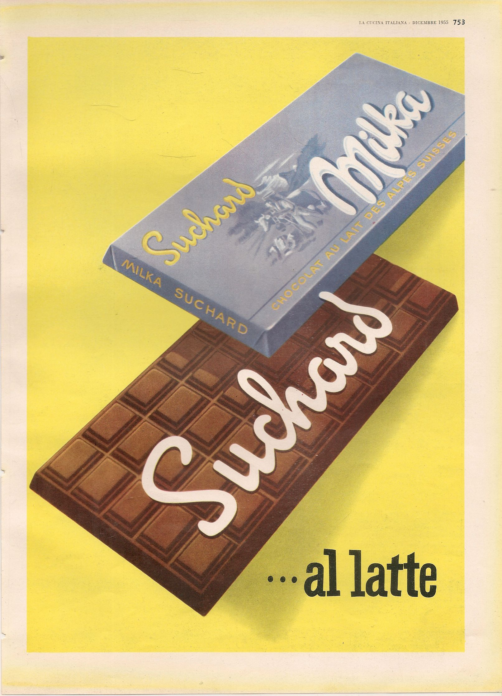 MILKA SUCHARD - ADVERTISING