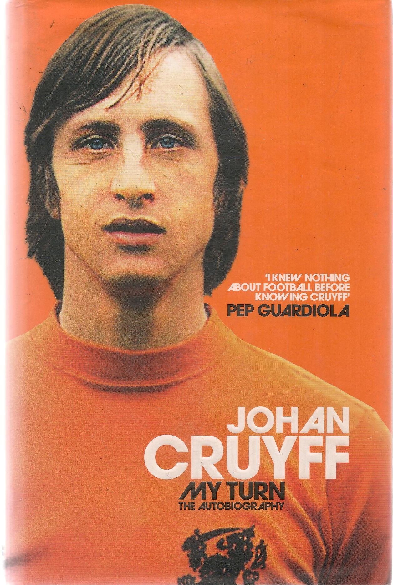 JOHAN CRUIFF - MY TURN THE AUTOBIOGRAFY - ENGLISH TEXT