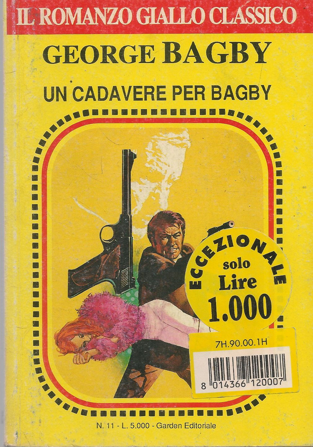 UN CADAVERE PER BAGBY - GEORGE BAGBY