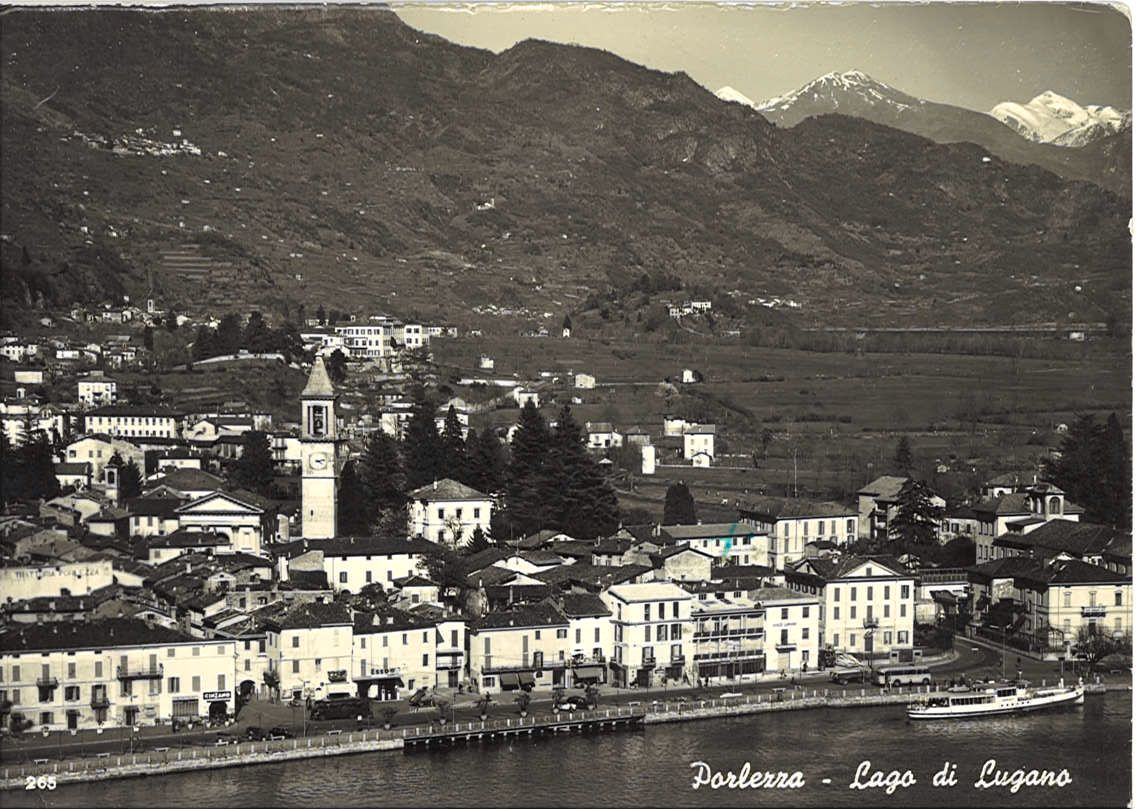 PORLEZZA - PANORAMA - VB