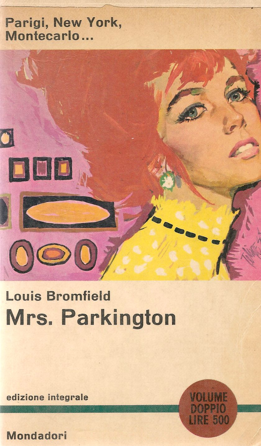MRS. PARKINGTON - LOUIS BROMFIELD