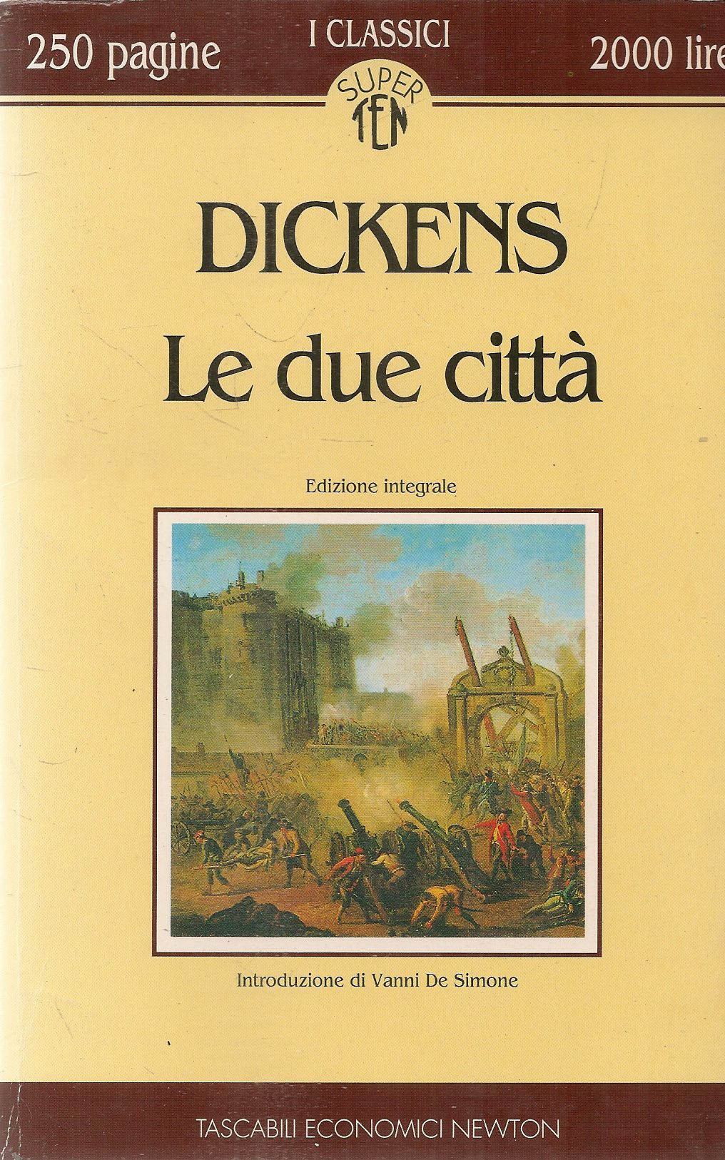 LE DUE CITTA' - CHARLES DICKENS