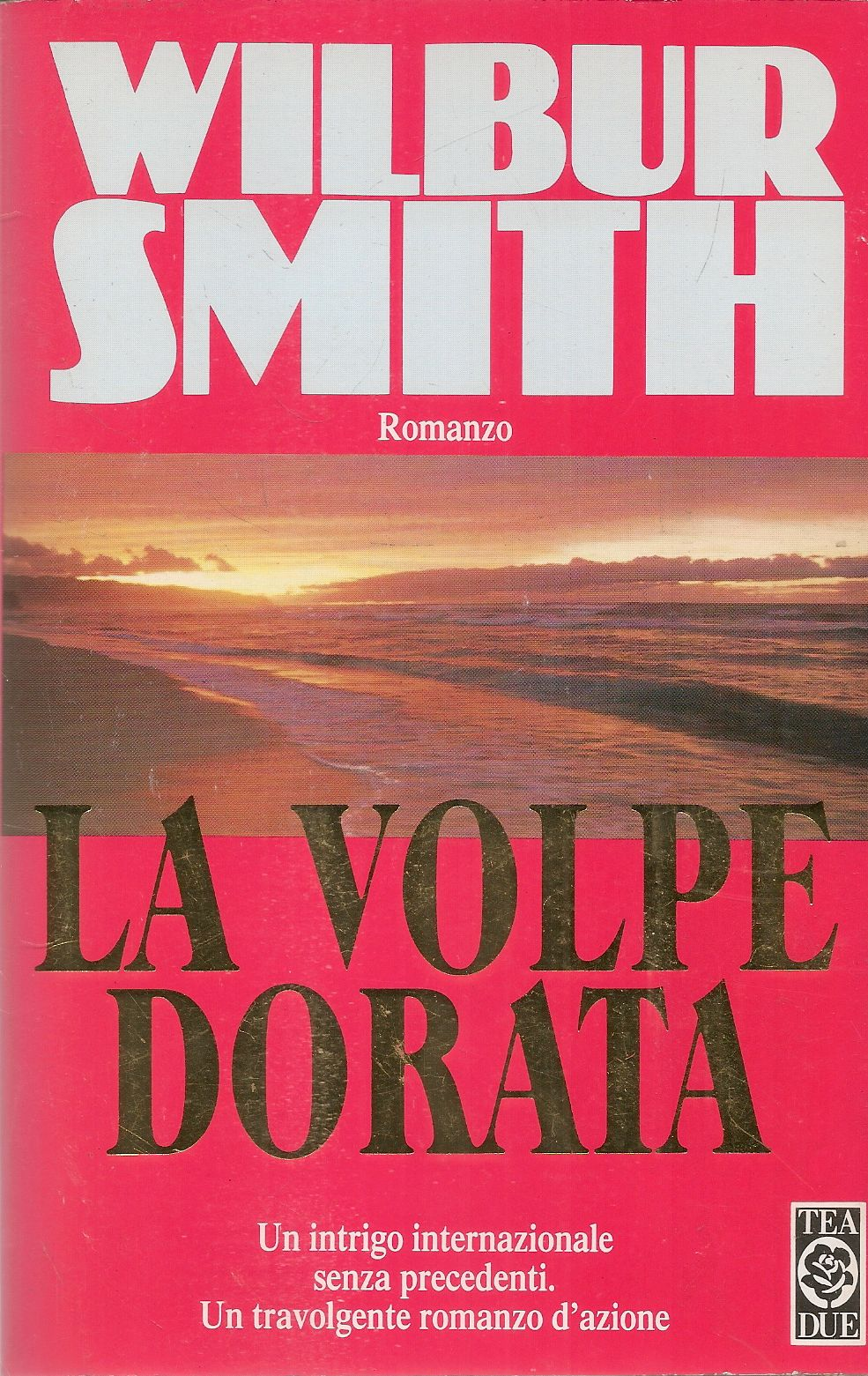 LA VOLPE DORATA - WILBUR SMITH - TEA DUE 1993