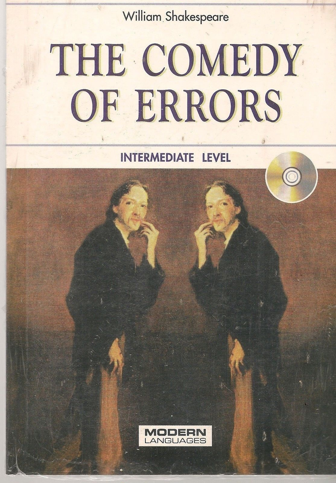 THE COMEDY ERRORS - W. SHAKESPEARE (ENGLISH TEXT INTERMEDIATE LEVEL  + CD)