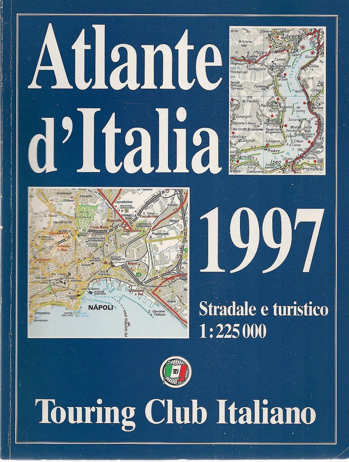 ATLANTE D\'ITALIA 1997 TOURING CLUB ITALIANO - AA.VV.