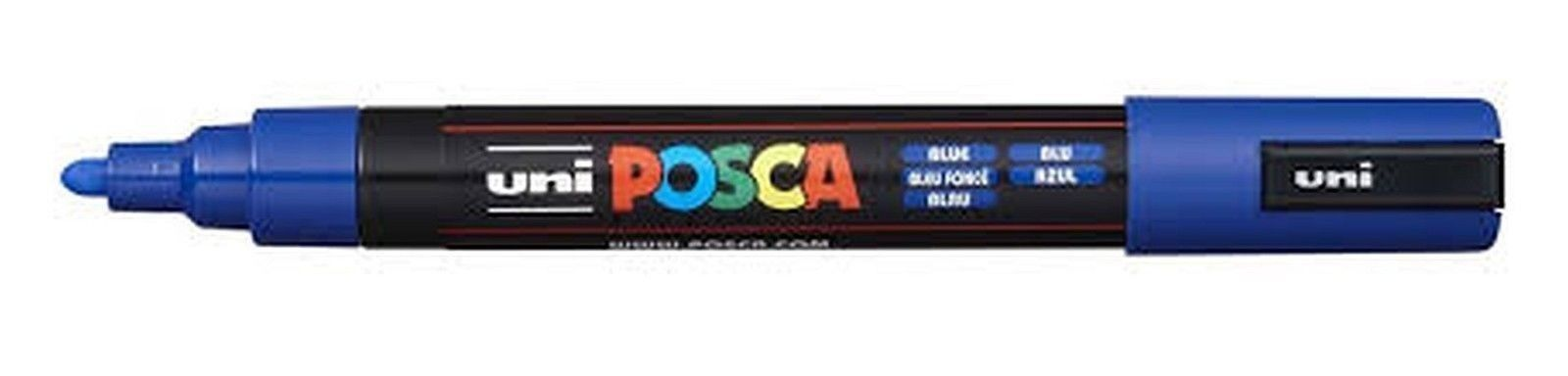 UNIPOSCA PC-5M 1,8-2,5 MM PUNTA MEDIA - COLORE BLU