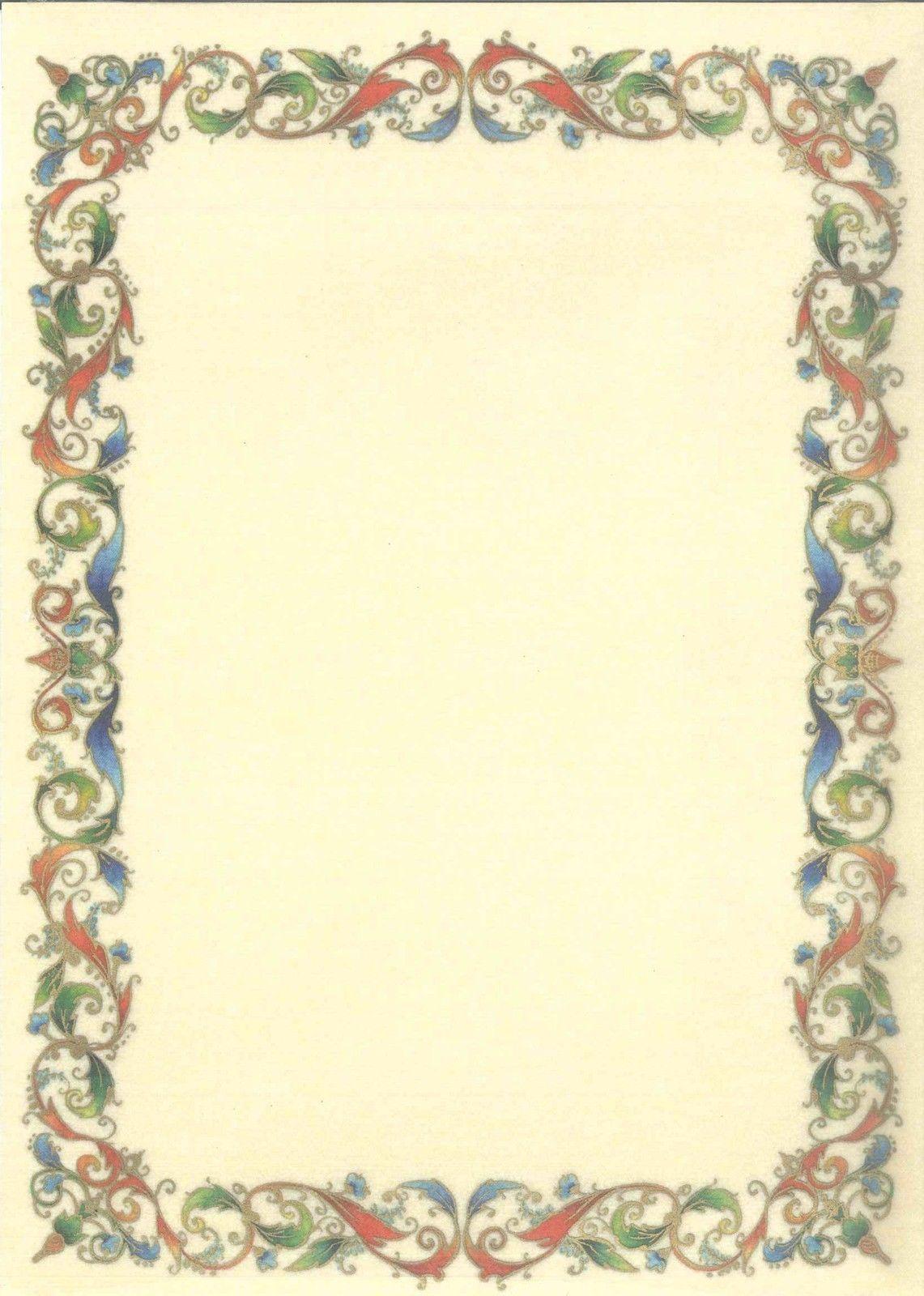 cornice pergamena