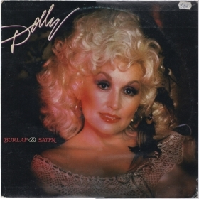 BURLAP & SATIN # DOLLY PARTON (Made in Yugoslavia)