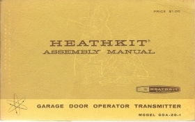 HEATHKIT GDA-20-1 ASSEMBLY MAN