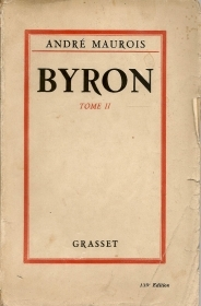 BYRON - ANDRE MAUROIS     TOMO 2   FRENCH TEXT