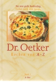 DR. OETKER KOCHEN VON A-Z   BAND 1 A-BUT     GERMAN TEXT