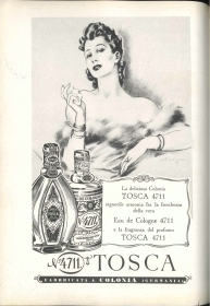 EAU DE COLOGNE TOSCA - ADVERTISING