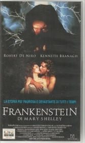 FRANKESTEIN DI MARY SHELLEY    -    VHS
