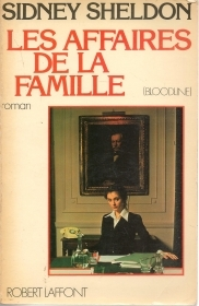 LES AFFAIRES DE LA FAMILLE - SIDNEY SHELDON   FRENCH TEXY