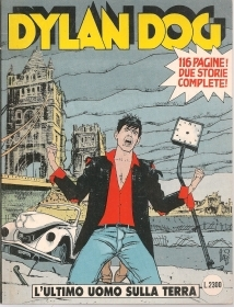 DYLAN DOG N. 77 - L'ULTIMO UOMO SULAL TERRA