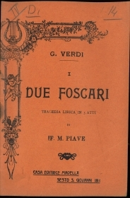 I DUE FOSCARI  -  G.VERDI-F.M.