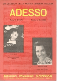 ADESSO - DANPO-CENSI - SPARTITO-SHEET MUSIC