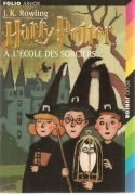 HARRY POTTER A L'ECOLE DES SORCIERS - J.K. ROWLING   FRENCH TEXT