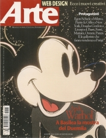 ARTE N. 325 - SETTEMBRE 2000 - ANDY WARHOL