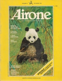 AIRONE N. 8 - DIICEMBRE 1981 - SPECIALE PANDA