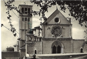 ASSISI - BASILICA DI S. FRANCESCO - CHIESA SUPERIORE - V1953