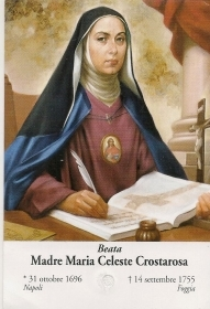 BEATA MADRE MARIA CLESTE CROST