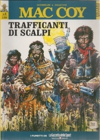 MAC COY N. 4 - TRAFFICANTI DI SCALPI